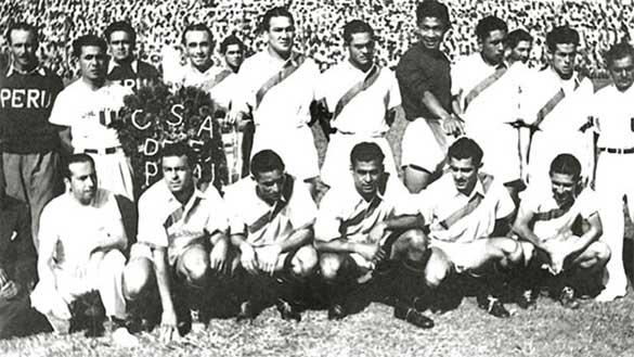 Squadra Perù 1939 calcio