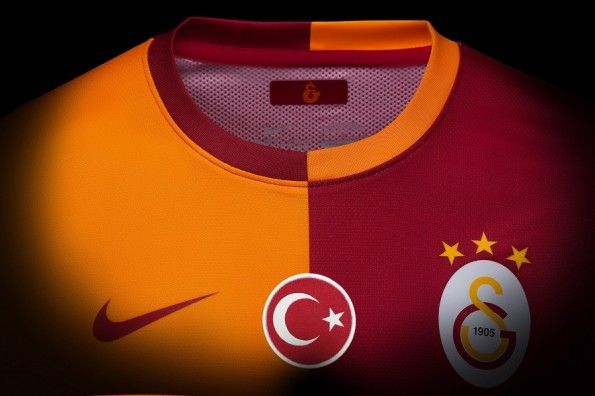 Colletto casacca Galatasaray Nike 2013-14