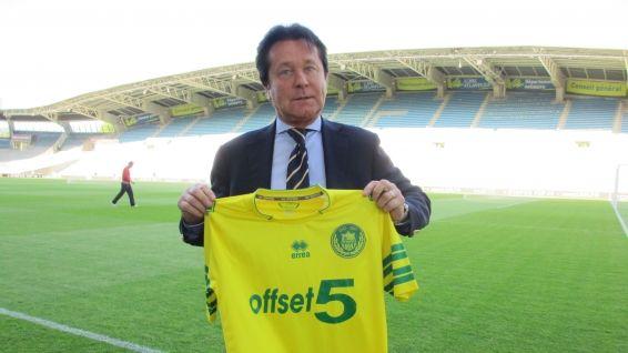 Il presidente Waldemar Kita maglia Nantes 2013-3014