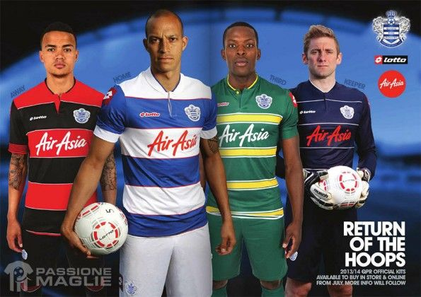 Maglie Queens Park Rangers 2013-2014 Lotto