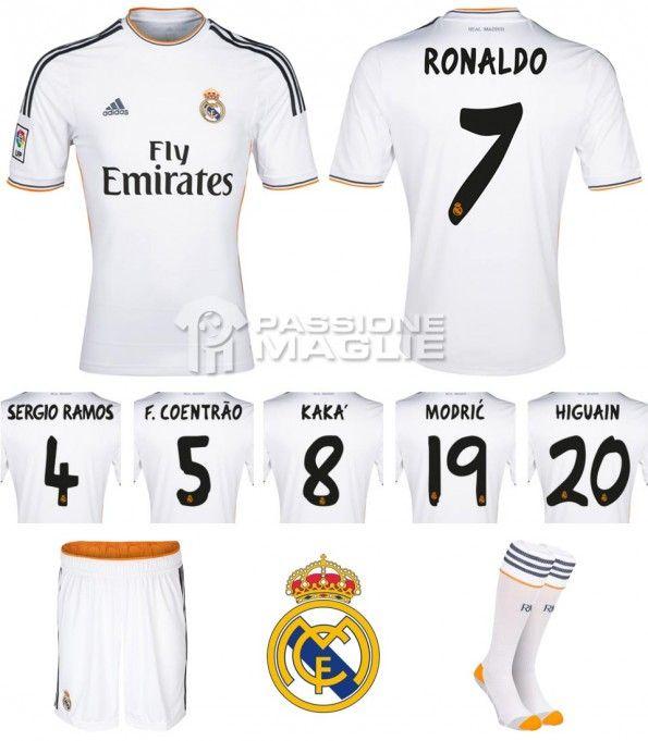 Real Madrid maglia 2013-2014 adidas