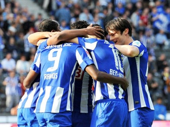 Kit home Hertha font nomi numeri