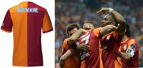 Modello replica authentic maglia Galatasaray