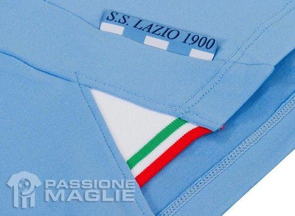 Tassello tricolore maglia Lazio