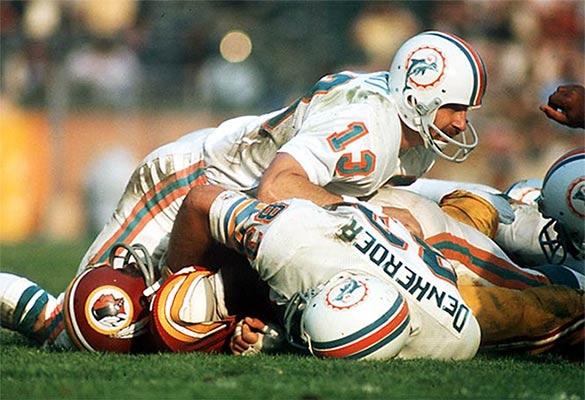 Una fase del Super Bowl VII