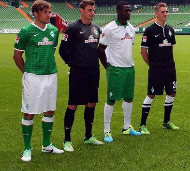 Miniatura divise Werder Bremen 2013-2014
