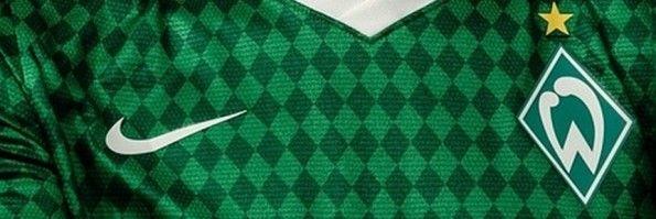Pattern a rombi maglia Werder Brema 2013-2014