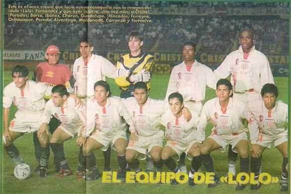 Universitario 1997 Copa Conmebol