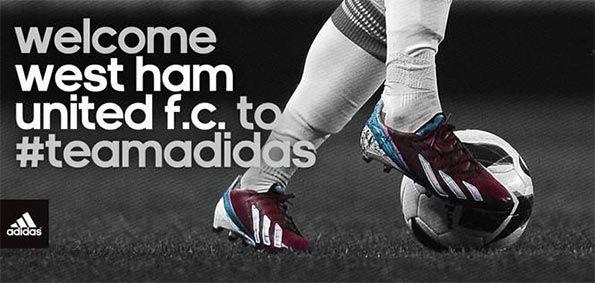 Adidas sponsor tecnico West Ham