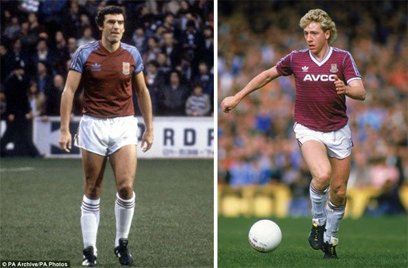 Kit West Ham anni 80 adidas