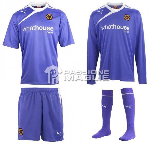 Seconda maglia Wolverhampton 2013-14