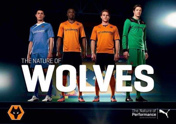 Kit Wolves Puma 2013-2014