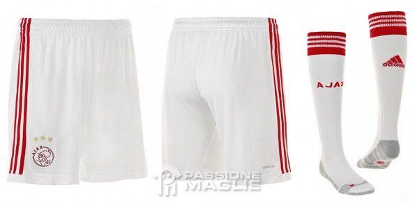 Ajax calzoncini calzettoni 2013-2014 home