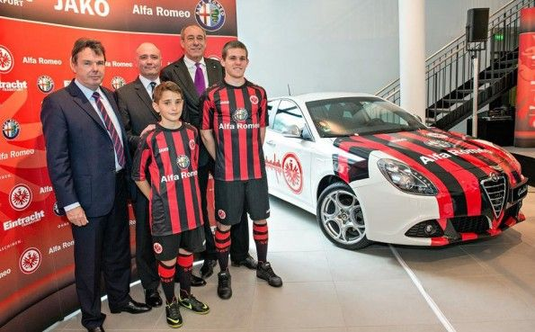 Alfa Romeo maglia Eintracht Francoforte 2013-2014