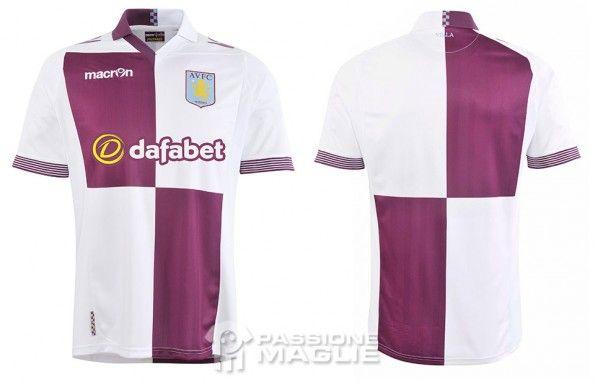 Seconda maglia Aston Villa 2013-2014