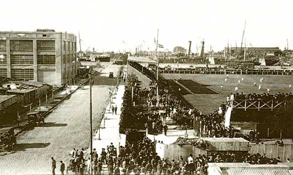 Campo da calcio River Plate anni 20