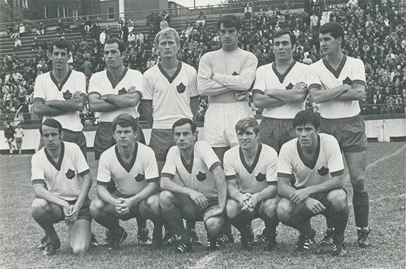 Squadra Canada qualificazioni Mondiali 1970