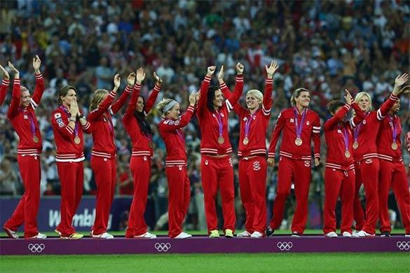 Nazionale Canada femminile Londra 2012