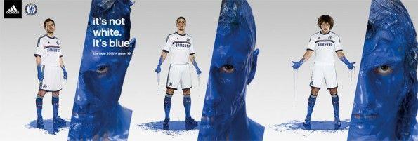 Kit Chelsea away 2013-2014 adidas