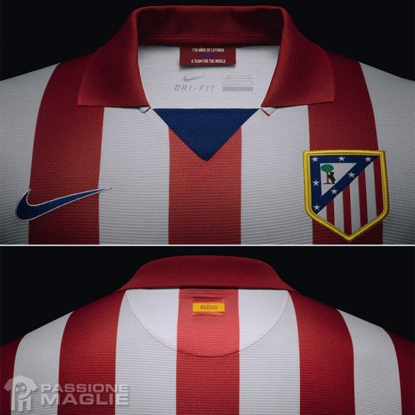 Colletto Atletico Madrid 2013-2014