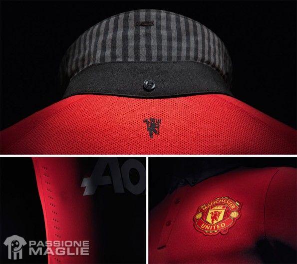Colletto divisa Manchester United 2013-14