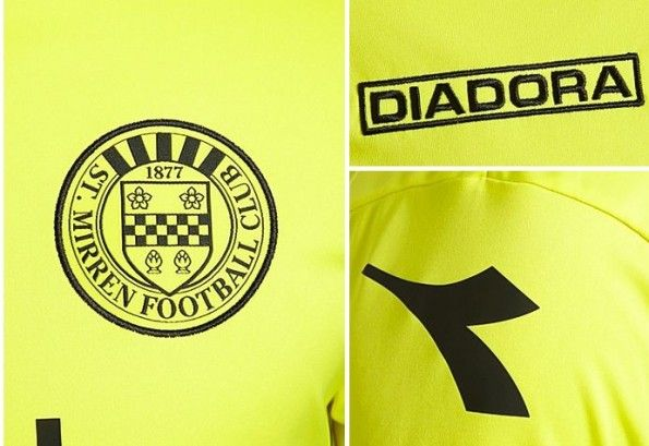 Particolari third kit 2013-14 St Mirren