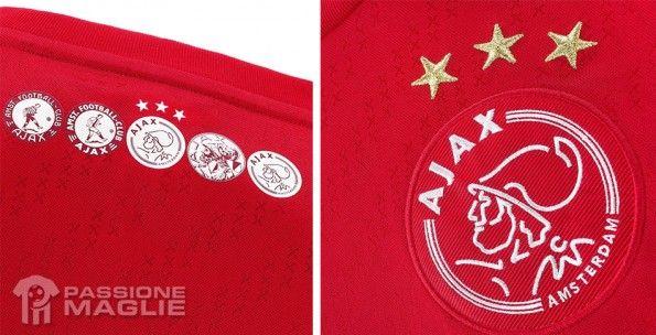 Crocette prima maglia Ajax 2013-2014