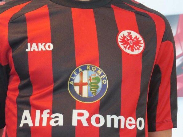 Dettaglio sponsor Alfa Romeo Eintracht Francoforte