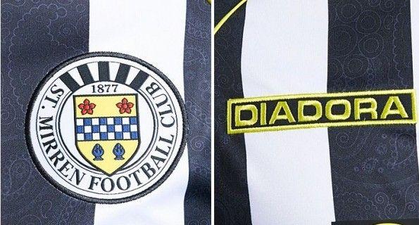 Pattern Paisley maglia St Mirren 2013-2014