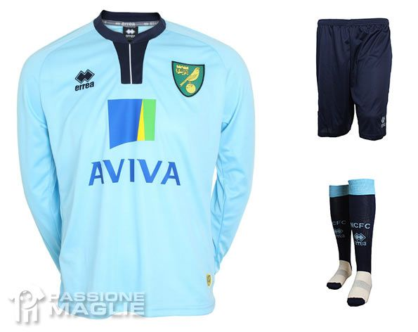 Divisa portiere Norwich City 2013-2014