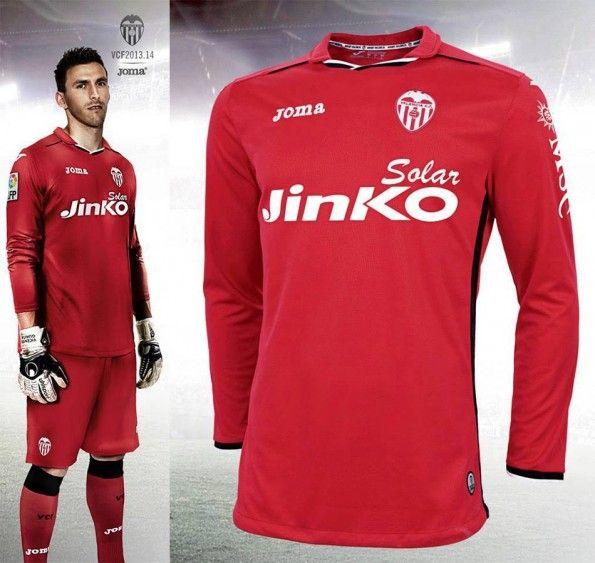 Valencia maglia portiere 2013-2014