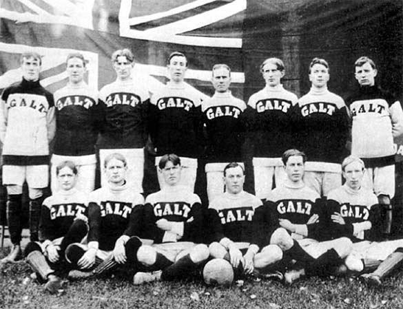 Galt FC campione olimpico 1904