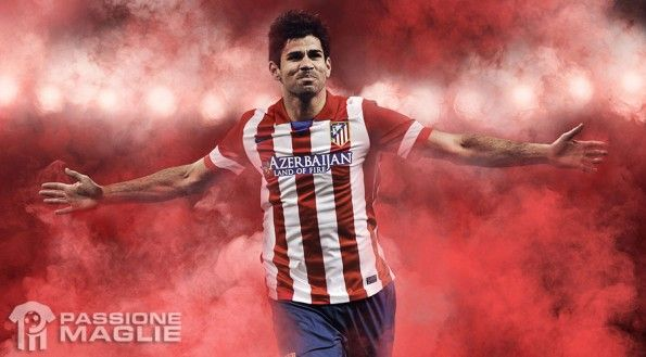 Kit Atletico Madrid home 2013-2014
