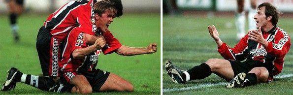 Maglia Eintracht Francoforte 1996-1998