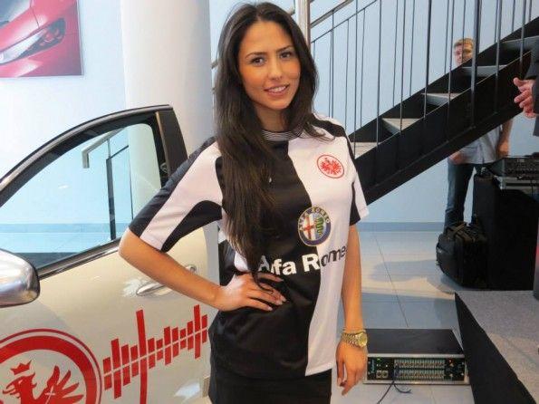Kit away Eintracht Frankfurt 2013-2014 Jako
