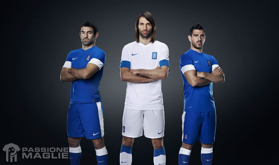 Kit Grecia 2013-2014 Nike