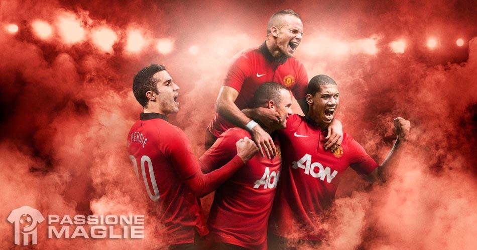 Kit Manchester United 2013-2014 Nike