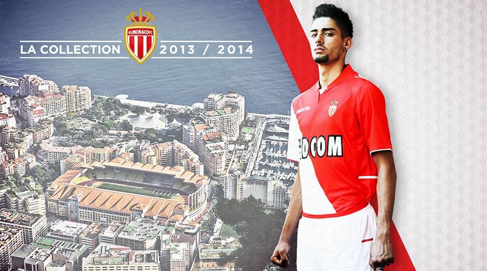 Kit AS Monaco 2013-2014 Macron
