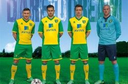 Kit Norwich City 2013-2014 Erreà