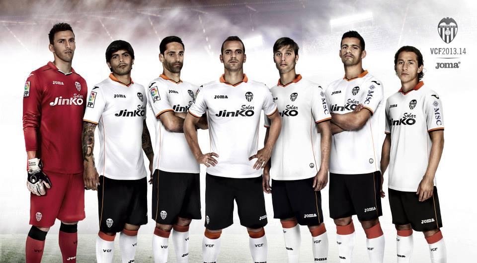 Kit Valencia 2013-2014 Joma