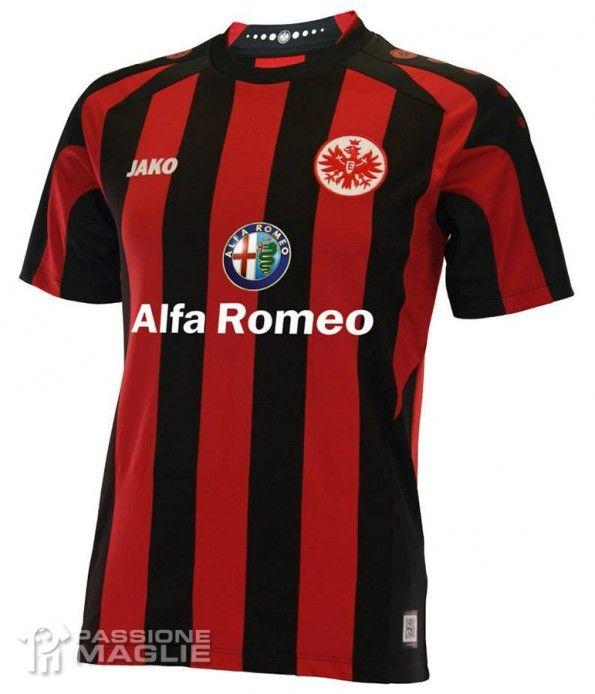 Prima maglia Eintracht Francoforte 2013-2014