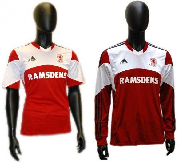 Maglia Middlesbrough 2013-2014 adidas