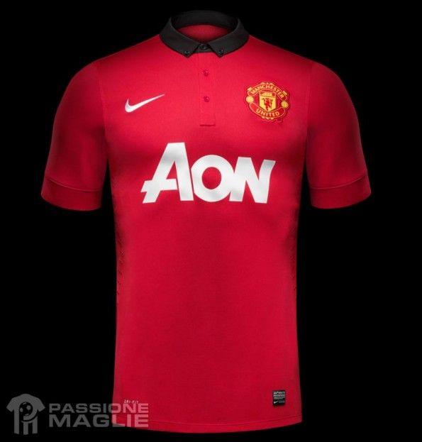 Maglia Manchester United 2013-2014 Nike