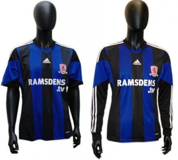 Seconda maglia Middlesbrough 2013-2014