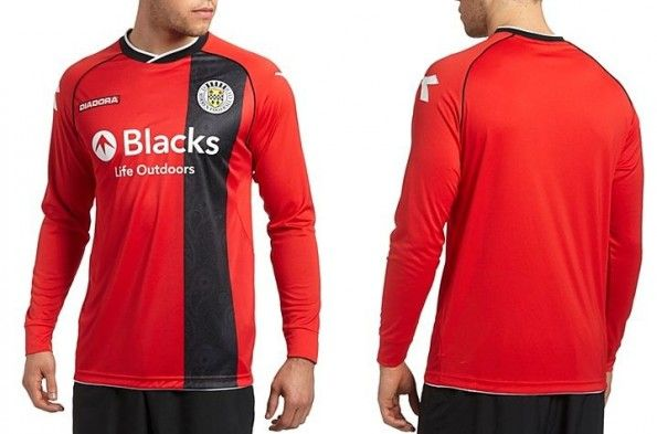 Seconda maglia St Mirren 2013-2014