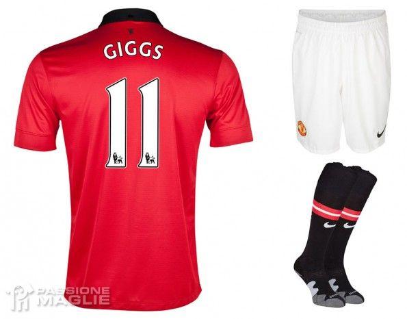Manchester United maglia Giggs 2013-14