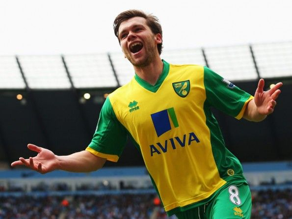 Howson esulta Norwich City