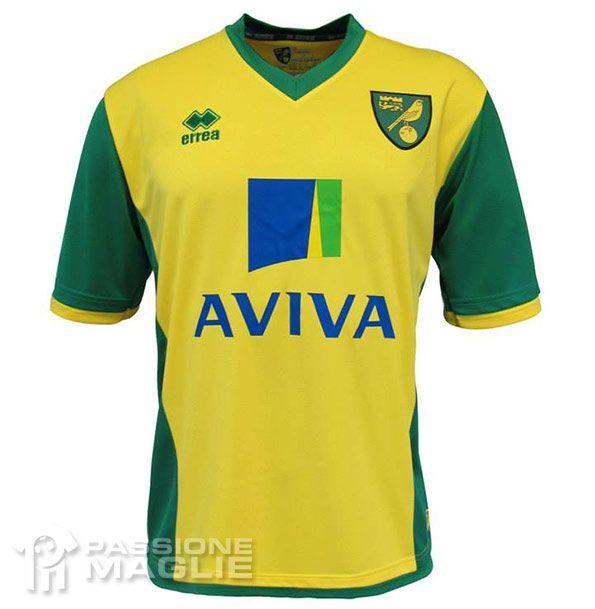 Maglia Norwich City 2013-2014