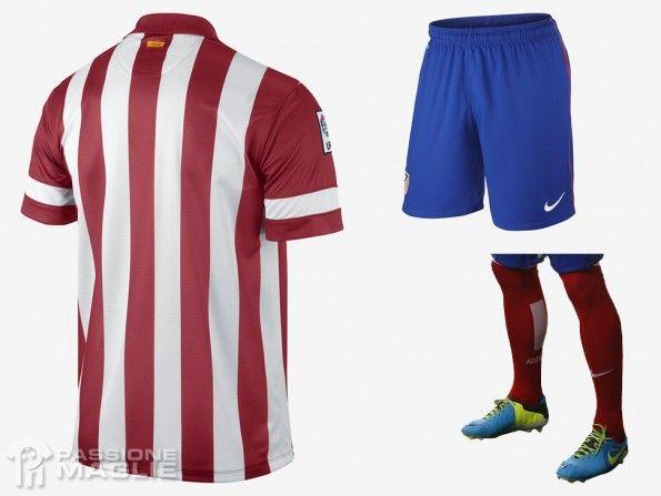 Pantaloncini calzettoni Atletico Madrid home 2013-14
