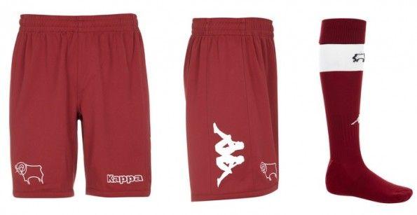 Pantaloncini calzettoni da trasferta Derby County 2013-2014